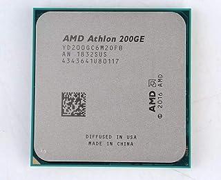 AMD Athlon 200GE X2 200GE 3.2GHz デュアルコア クアッドスレッド CPU プロセッサー YD200GC6M2OFB ソケット AM4