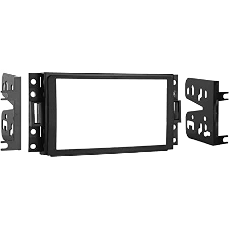 Scosche GM0516DDCS Double DIN Premium Installation Solution and Interface Compatible with Select 2005-16 General Motors Vehicles