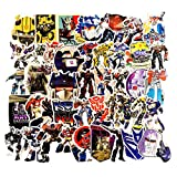 50Pcs Cartoon Transformers Theme Vinyl Waterproof Stickers for Water Bottle Cup Laptop Guitar Car Motorcycle Bike Skateboard Luggage Box Graffiti Patches CMLD