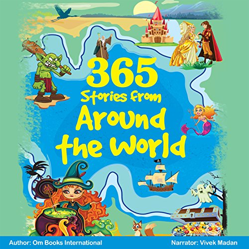 365 Stories from Around the World audiobook cover art