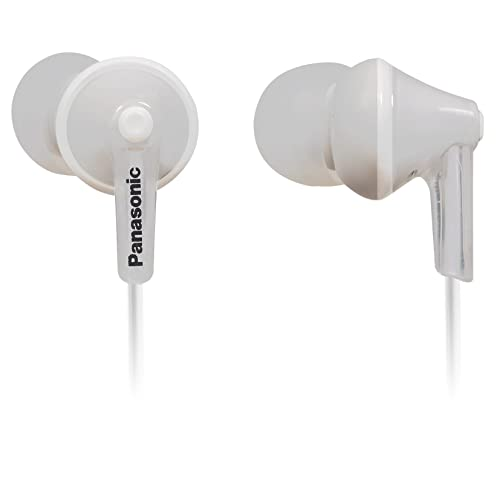 Panasonic RP-TCM125-W in-Ear Headphones with Mic White