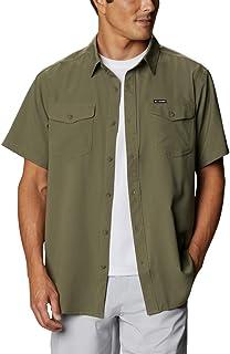 Columbia Men's Short Sleeve Shirt, Utilizer II Solid