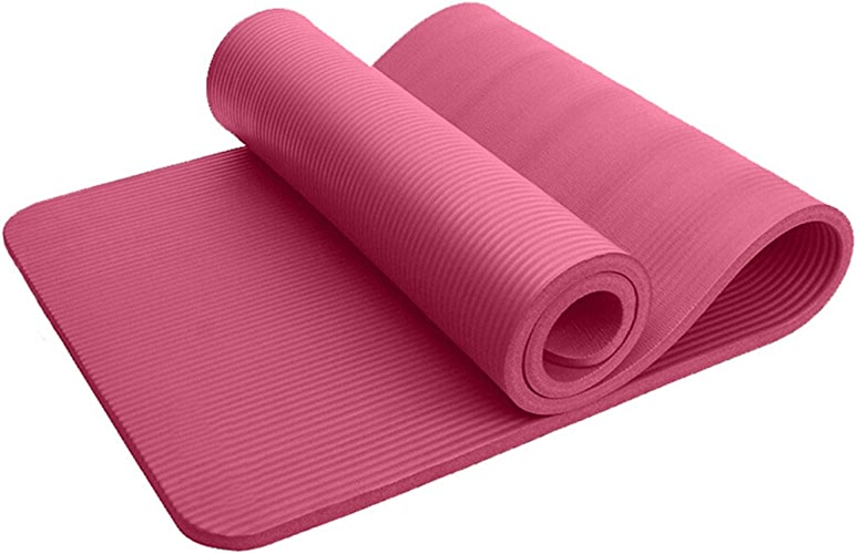 HCJYJD Tapis de Yoga, Thicken Dance Mat Extended Mouvement antidérapant Durable Tapis de Fitness (Couleur    3, Taille   Thickness15mm)