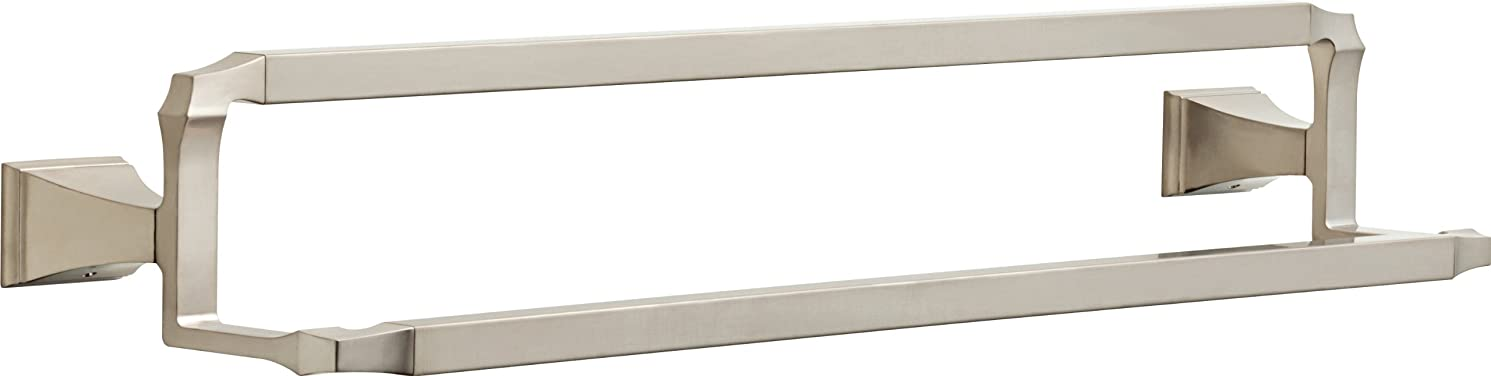 Delta Faucet 75125-SS Dryden 24inch Double Towel Bar Rack, Brilliance Stainless Steel