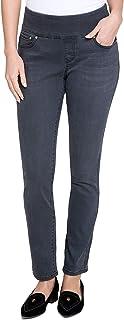 Tommy Hilfiger Women's Pull-On Slim-Leg Jeans Vintage Coal 6