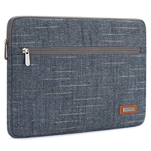 NIDOO Waterproof Laptop Bag Laptop Sleeve Case Notebook Protective Cover Bag blue 14 zoll