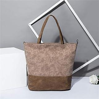 Kyoidy Women High Capacity Umhängetasche Tote Weiche Lederhandtasche