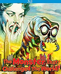 The Monster that Challenged the World, amazon, blu-ray, monster, monster movie, sci-fi, sci-fi movie, movie review, raw review