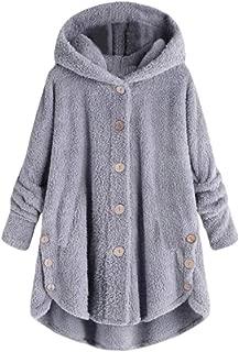 Women Winter Warm Hoodie Parkas Overcoat Fleece Outwear Jacket