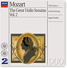 Mozart: Great Violin Sonatas Vol.2
