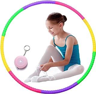 Hula Hoops voor kinderen, Alldo Multicolor kleine kinderen hoelahoep afneembare sport jongens & meisjes voor dans/gym/fitness