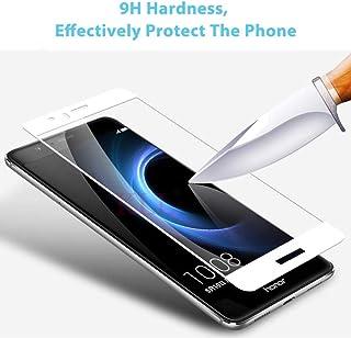 Heltäckande härdat glas för Huawei G7 Plus G8 P9 GR3 GR5 2017 Honor 6X 8 skärmskydd för P10 NOVA 2 Plus skyddsfilm (3 dela...