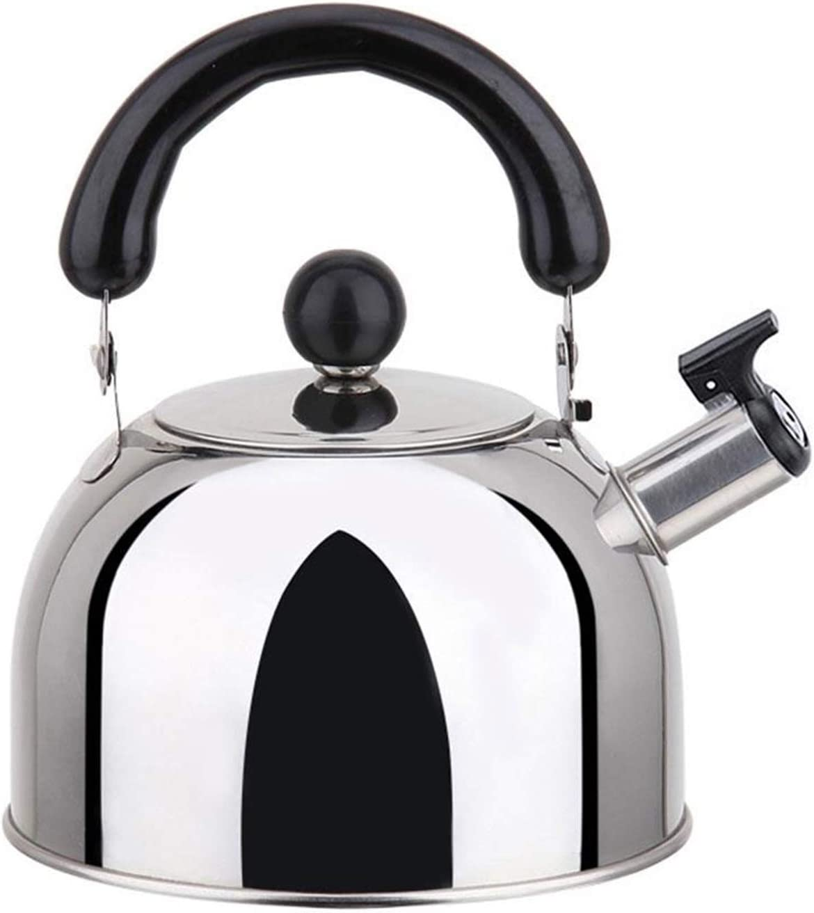 Stainless Steel Whistling Tea Kettle Ergonomic Special price for a famous limited time Handle Suitable