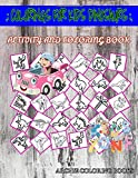 Colorings For Kids Dinosaurs: Image Quizzes Words Activity Coloring Books 55 Image Stegosaurus, Struthiomimus, Styracosaurus, Spinosaurus, ... Graciliceratops For Teen Girls