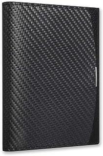 849240e26 Luxury Soft Carbon Fiber Leather Travel [Blacklabel Passport Holder] Cover  Slim Organizer Case for