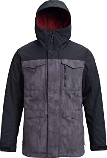 Burton Men's Covert Jacket, Cloud Shadows/True Black, Medium