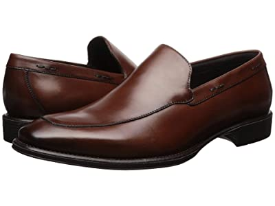Kenneth Cole Reaction Left Slip-On (Cognac) Men
