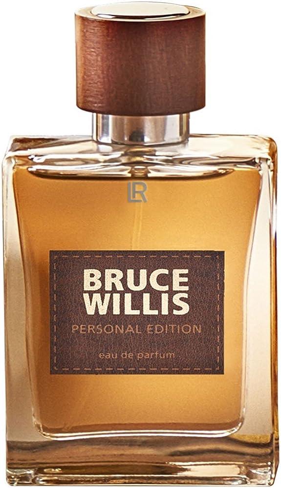 Lr bruce willis limited winter edition, eau de parfum, profumo per uomo, 50 ml 30044