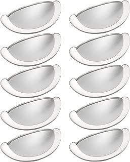 YFJG Brushed Nickel Cabinet pulls Shell Handle Traditional Cabinet Dresser Drawer Hardware Bin Cup Drawer Handle Pull - 2.75