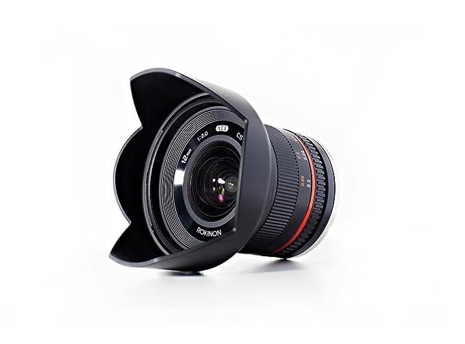 SLR Camera Lenses Electronics Black NEX Rokinon 12mm F2.0 NCS CS ...