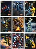 1994 Fleer Marvel Universe Complete 200 Card...