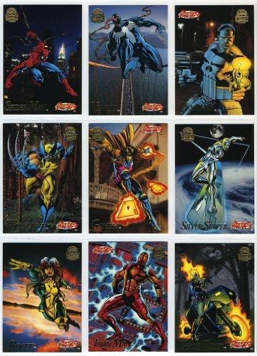 1994 Fleer Marvel Universe Complete 200 Card Set