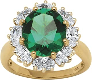 Best emerald cluster ring yellow gold Reviews