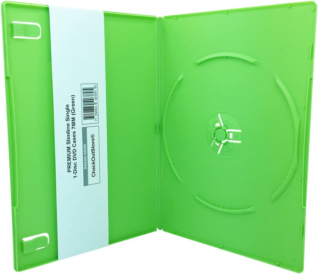 CheckOutStore Max 64% OFF 200 Premium Slimline Single supreme DVD 1-Disc Cases 7mm