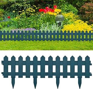 Plastic Lawn Edge Roll Garden Grass Edging Flower Bed Border Green 12cm x 6m