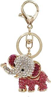 Aiphamy Keychain Purse Bag Charm Key Chain Ring for Women