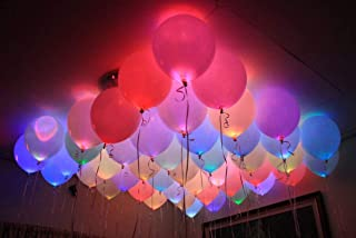 18 LeD Ballons Blinking and Flashing Changing Colors