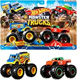 Hot Wheels Monster Trucks Demo Doubles Collection, Pack of 2, Multicolor