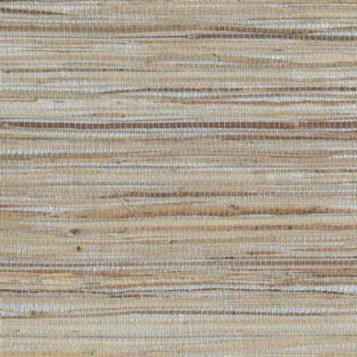 York Wallcoverings NZ0796 Grasscloth Wallpaper by Raw Jute, Silvery/Pearl, Cream, Beige, Tan