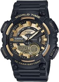 Casio Men's Ana-Digi Dial Resin Band Watch - AEQ-110BW-9AV