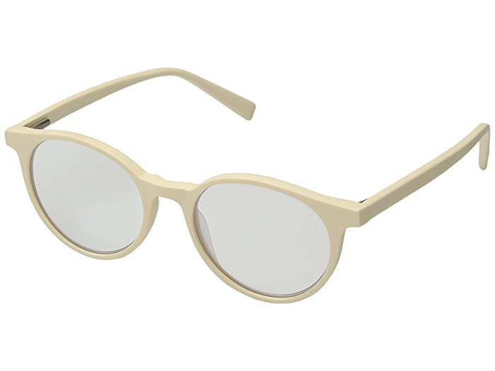 Case Closed (Matte Cream) Reading Glasses Sunglasses