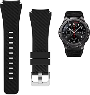 Replacement Watch Bands for Samsung Watch 3/Gear S3 Frontier/Classic Strap Silicone Bracelet S3 Sports Band Strap Replacem...