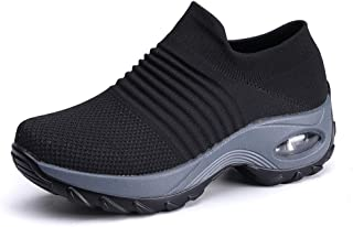 PADGENE Chaussures de Sport, Homme Femme Baskets de Marche Chaussures Respirant Engrener Souliers de Tennis