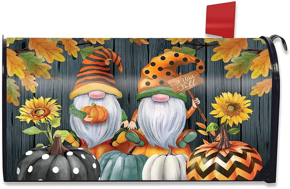 Briarwood Lane Fort Worth Mall El Paso Mall Fall Gnomes Humor Cover Large Pump Autumn Mailbox