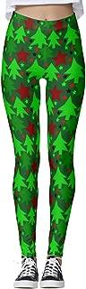 Women's Ugly Christmas Xmas Leggings Funny Costume Tights