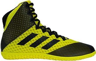 adidas Mat Wizard 4 AC8708 Wrestling-Schuhe, Gelb / Schwarz