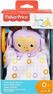 Fisher-Price Newborn Peek-A-Boo Plush, Multi-Colour (GFC26)