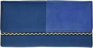 Wiwsi Women Fashion Faux Soft Leather Clutch Purse Simple Long Wallet Handbag