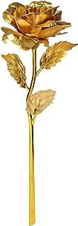 24K الذهب احباط الاصطناعية روز هدية رومانسية