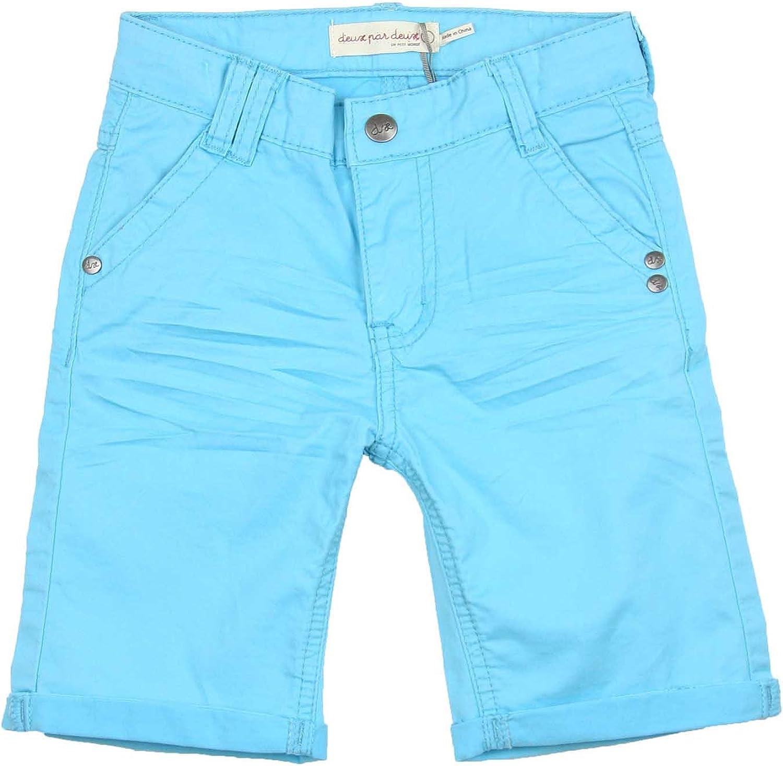 Deux par Deux Boys' Twill Shorts Bugs Bebop, Sizes 18M-6