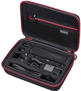 Smatree Estuche portátil para Osmo Pocket bolsa para soporte Osmo Pocket rueda del controlador Carcasa de carga y otros accesorios