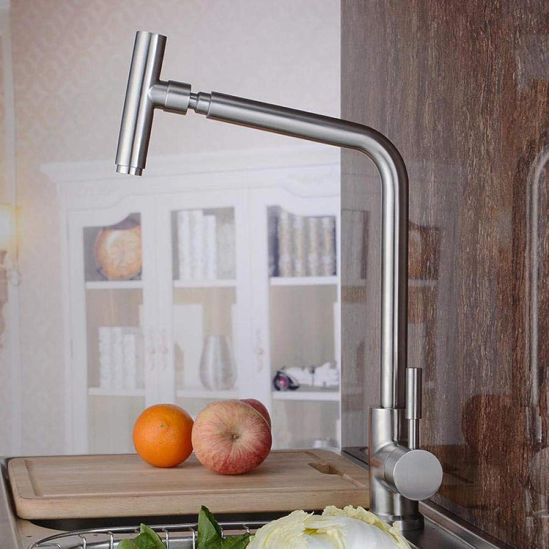 Faucet Chrome Sink Kitchen Faucet Direct Kitchen Faucet Lead-Free 304 Durable Single-Connected Mixer