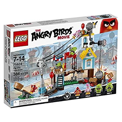 LEGO Angry Birds 75824 Pig City Teardown