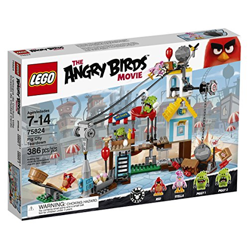LEGO Angry Birds 75824 Pig City Teardown by LEGO