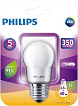 Lâmpada Led Bulbo Philips, 3.5w No Voltagev Branco