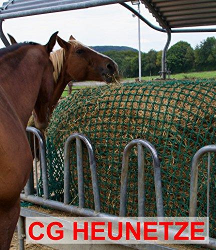 CG Heunetze Heunetz - Raufe - 4,5 cm Maschenweite Gr. 3,50m x 3,50m ORIG inkl. 4 Schnüre zur Befestigung an der Raufe